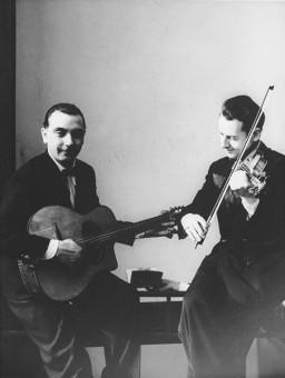 DjangoとStéphane、おそらく1936年頃。