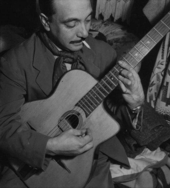 1949年ル・ブルジェでのDjango。