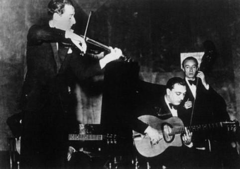 Stéphane Grappelli、DjangoとTony Rovira